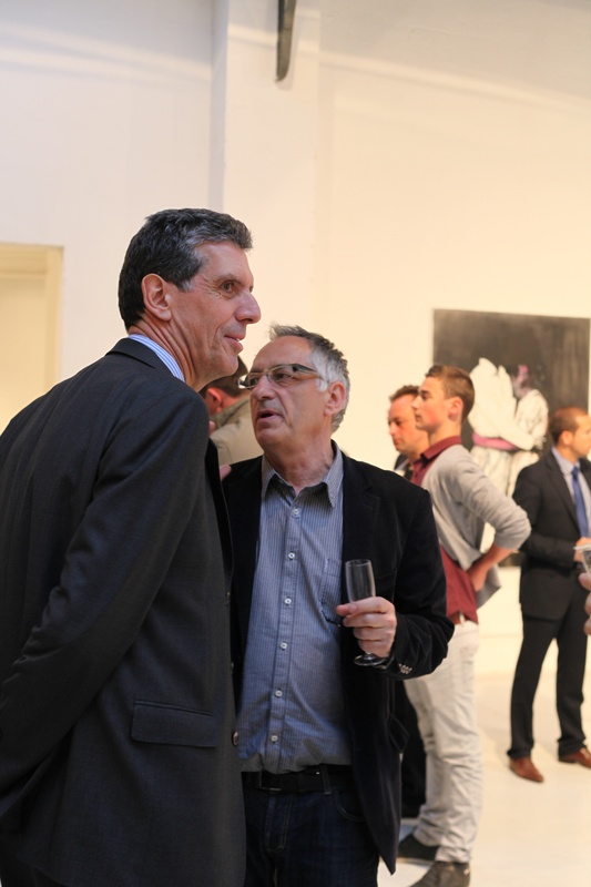 Avec Henri Loyrette