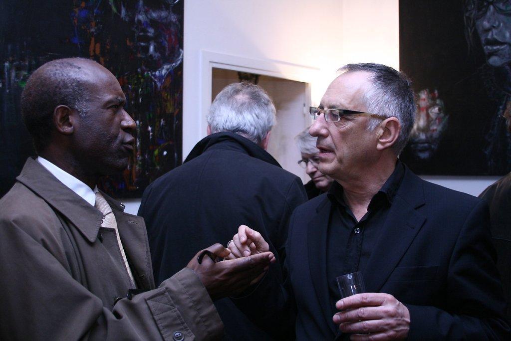 Avec Jean-Paul Ngoumou