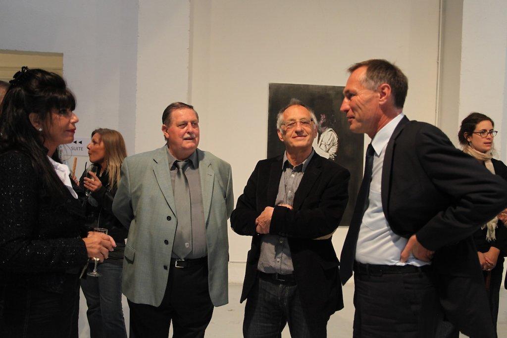 Avec Nikki, Christian,  Jean-Marie Bockel